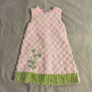 Other - Pink Daisy Button Up Back Dress